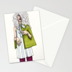 Fashion Illustration - Patterns and Prints - Part 2 Stationery Cards