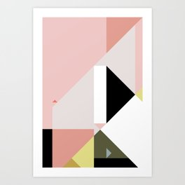 Constructivist Tune n° 2 Art Print
