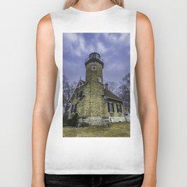 White River Lighthouse Biker Tank