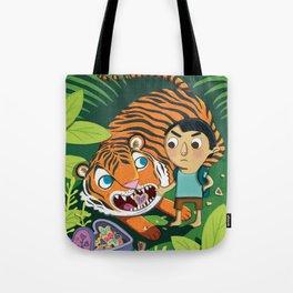 Cookie Tiger Tote Bag