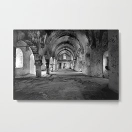 A derelict churh in Northern Cyprus Metal Print