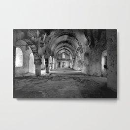 A derelict churh in Northern Cyprus Metal Print
