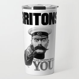 Britons Your Country Needs You - Lord Kitchener Travel Mug