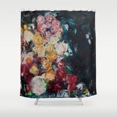 Balboa Roses.. Shower Curtain