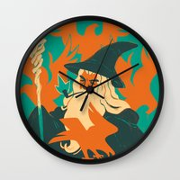 hobbit Wall Clocks featuring The Hobbit by Greg Wright
