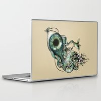 inspiration Laptop & iPad Skins featuring Flowing Inspiration by Enkel Dika