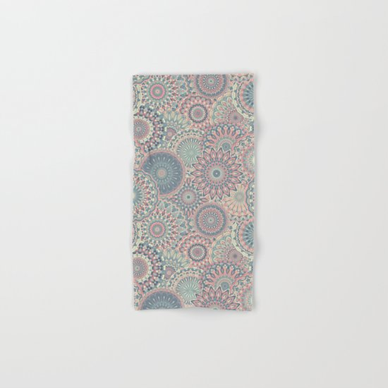 Mandala (Floral 002) Hand & Bath Towel