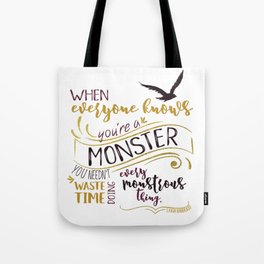 Every Monstrous Thing Tote Bag