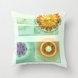 Skedaddle Helpless Flowers  ID:16165-101646-64081 Throw Pillow