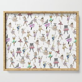 Animal Ballet Hipsters LV Serving Tray