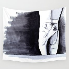 Ballet Shoes Wall Tapestry