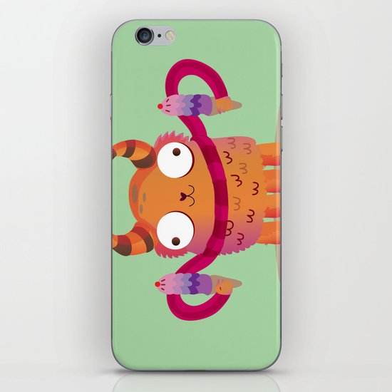 Icecream monster iPhone Skin