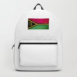 Vanuatu Flag design   Ni-Vanuatu design Backpack