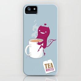 Tea Monster iPhone Case