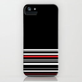 The Classy Babe - Black iPhone Case