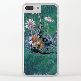 Roman Chamomile Clear iPhone Case