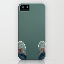 The green abyss iPhone Case