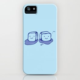 Ice Ice Baby iPhone Case