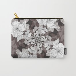 Hibiscus meets Pandanus (St. Damien 6) Carry-All Pouch