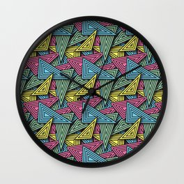 Triangle Funk - Summer Editon Wall Clock