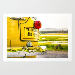 Yellowstone National Park Print Gifts Art Print