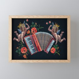 Accordion Limited Edition Selling Out Fast Framed Mini Art Print