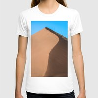 dune T-shirts featuring Dune Hike by Katie Jo Sheppard
