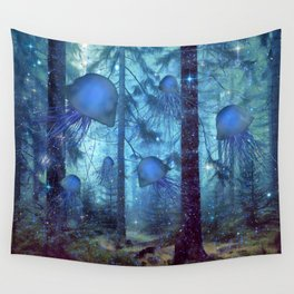 Magical Oceanic Forest Wall Tapestry
