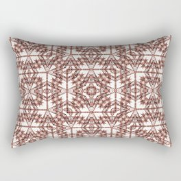 Ethnic Bold Geometric Pattern Rectangular Pillow
