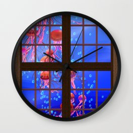 Window Jelly 1 Wall Clock