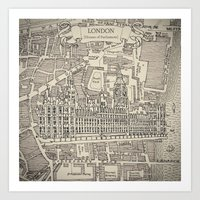 HOUSES OF PARLIAMENT Art Print