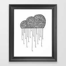 Cloud Framed Art Print