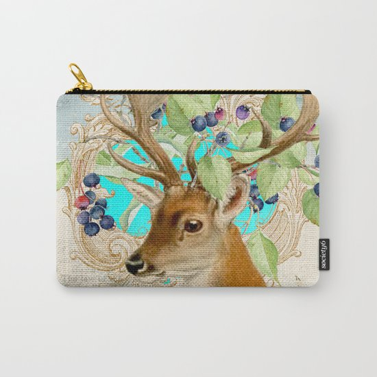 Winter animal #11 Carry-All Pouch