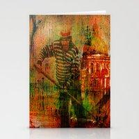 venice Stationery Cards featuring Venice by Ganech joe