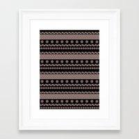 ethnic Framed Art Prints featuring Ethnic by FukoArt