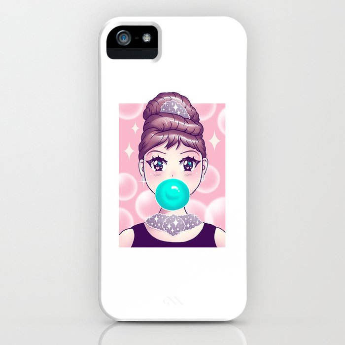 Kawaii Bubble Gum iPhone Case