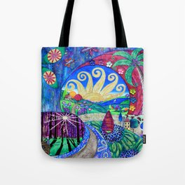 Road To Tranquility Tote Bag