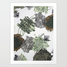 Carbonation Collection: winter Art Print