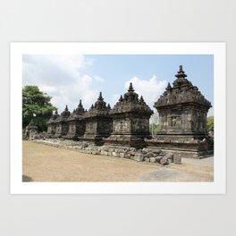 Javanese Candi Art Print