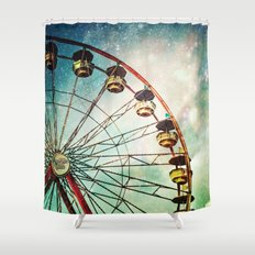 A Little Night Magic Shower Curtain