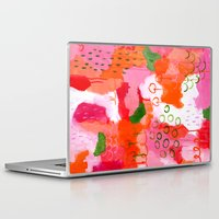 popsicle Laptop & iPad Skins featuring Popsicle by Portia Monberg