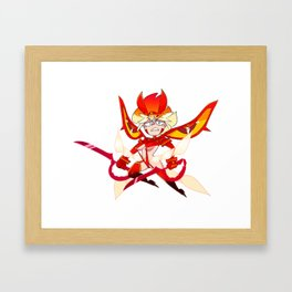 RYUKO MATOI Framed Art Print