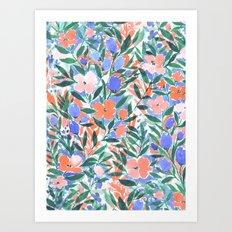 Nonchalant Coral Art Print