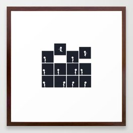 When I Say Go Framed Art Print
