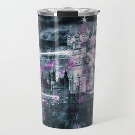 Modern-Art LONDON Tower Bridge & Big Ben Composing Travel Mug