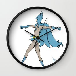 The Darkest Knight Wall Clock