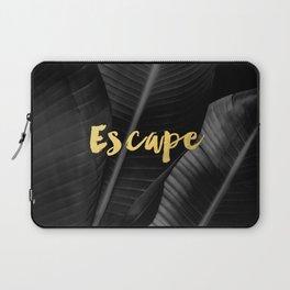 Escape - gold Laptop Sleeve