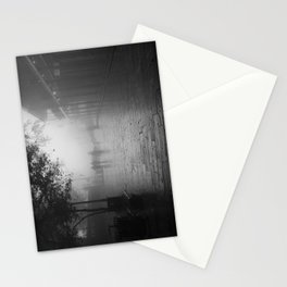 New Orleans on a foggy day Stationery Cards