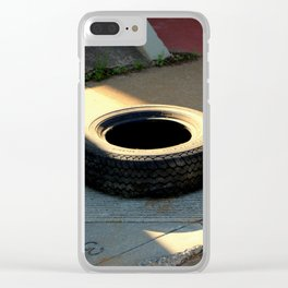 Catching Some Rays Clear iPhone Case
