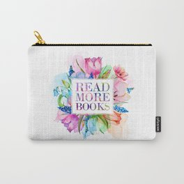 Read More Books Pastel Carry-All Pouch